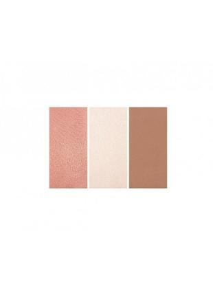 Палетка для контурирования zoeva rose golden blush palette3 фото