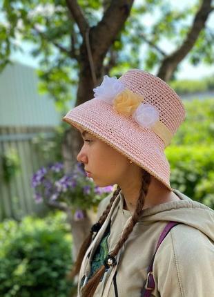 Шляпы для пляжа и летних городских прогулок