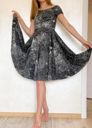 Вечернее платье миди h&m