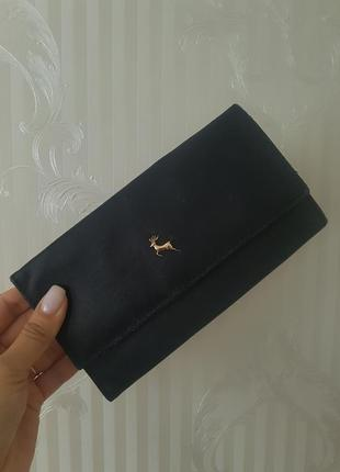 Ashwood кожаный кошелек портмоне кожа шкіряний гаманець