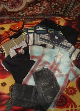 Набор одежды для мальчика 5-7 лет: