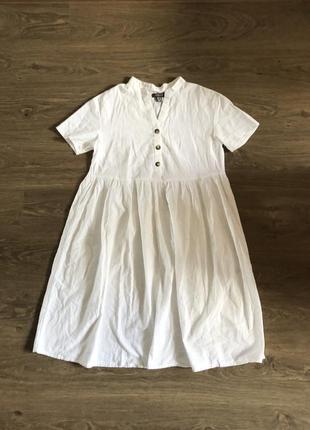 Натуральное платье primark