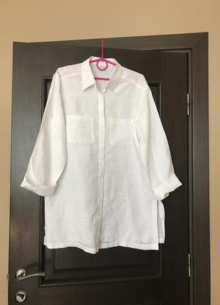 Рубашка лён 100%