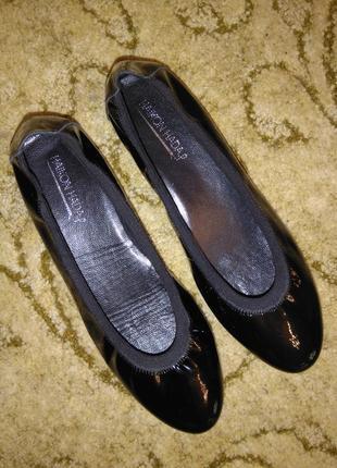 Кожаные туфли/балетки haikon hada (испания) 100% кожа