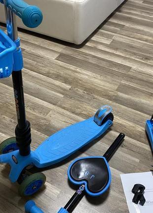 Самокат трьохколісний scooter 3 в 1babyhit