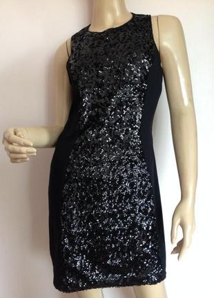 Коктельное платье с паетками /м/ brend h& m