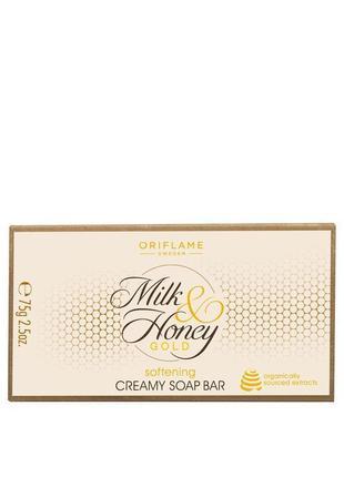 Крем - мыло «молоко и мед – золотая серия»
