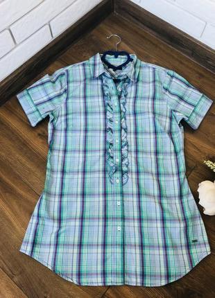 1+1=3 tommy hilfiger женская рубашка в полоску