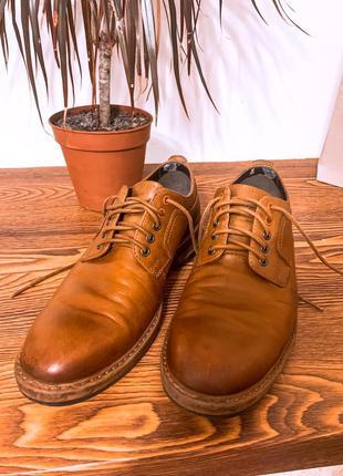 Кожаная обувь , мужские туфли