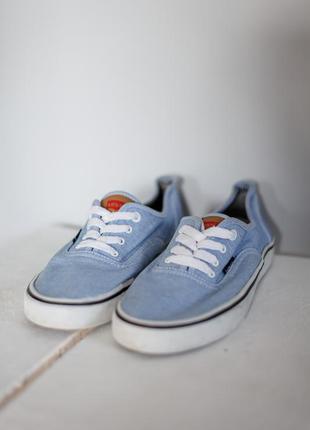 Levis тканевые кеды на шнуровке