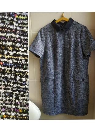Шикароое платье большого размера с коротким рукавом