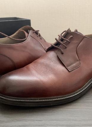 Кожаные мужские туфли fellini