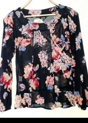 Шикарна красивая блузка р.l papaya