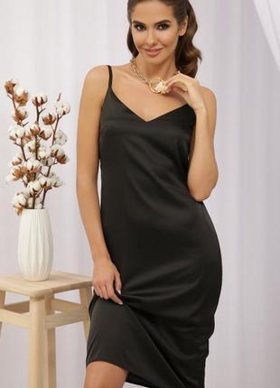 Элегантное и привлекательное платье из шелка армани