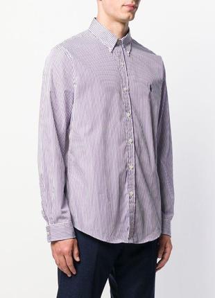 1+1=3 ralph lauren ,regent custom/полосатая рубашка с длинными рукавами