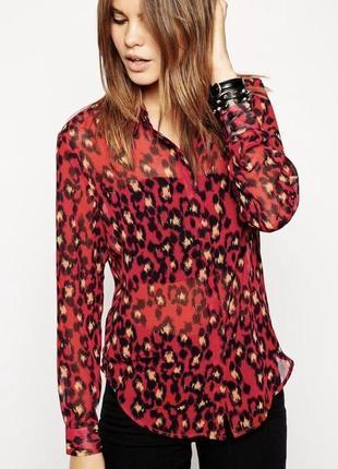 Блуза в красивый принт от asos