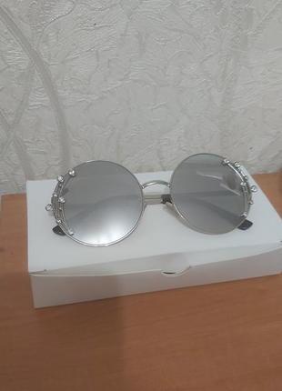 Шикарные зеркальные очки