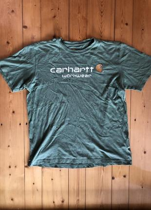 Винтажная футболка carhartt
