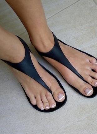 Crocs sexi flip чёрные