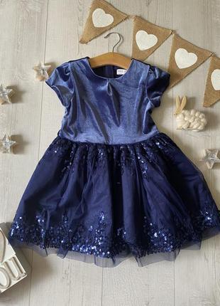 Нарядное платье 3-4 года