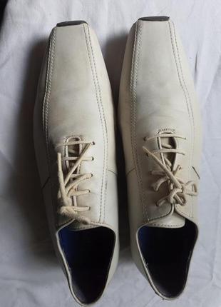 Kenzo фирменные брендовые туфли натуральная кожа 41 р.