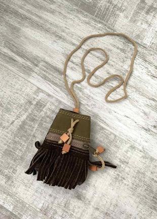Кошелек сумочка из натуральной кожи