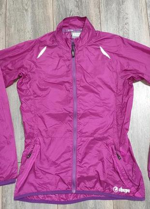 Женская  карманная куртка ветровка дождевик  sherpa model darchor women's wind jacket  размер м