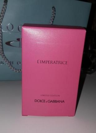 Dolce & gabbana l'imperatrice limited edition