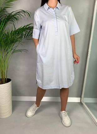Платье рубашка с карманами оверсайз someday