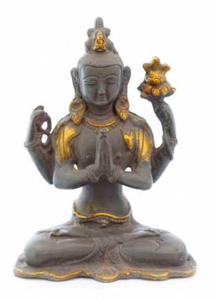 Статуэтка бронзовая авалокитешвара