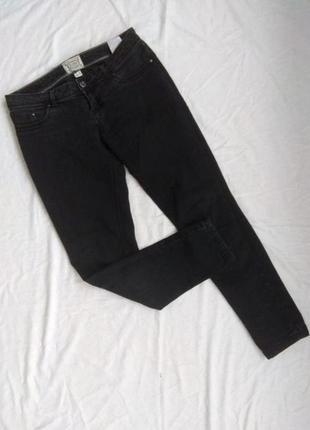 Джинсы, джинсовые брюки, р-р l, bershka, скини, узкачи