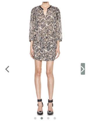 Шелковое платье премиум iro натуральный шёлк