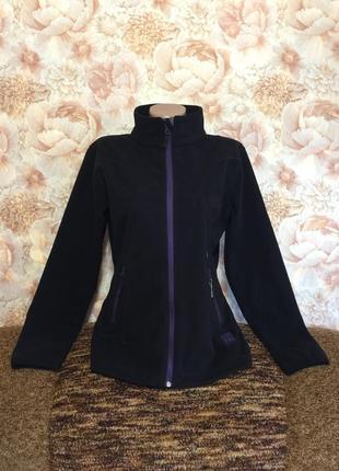 Норвежская  флисовая  термо кофта  twenty-four на молнии ,с карманами,шикарная спинка,44 р