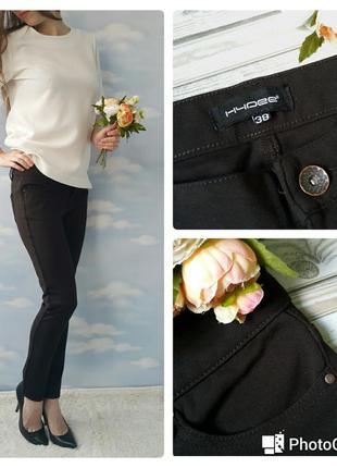 Плотные темно-коричневые брюки. распродажа! мега скидки на все!