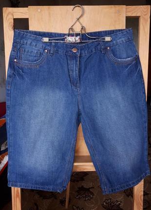 Джинсовые шорты женские большой размер