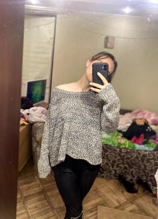 Крутой широкий свитер new look