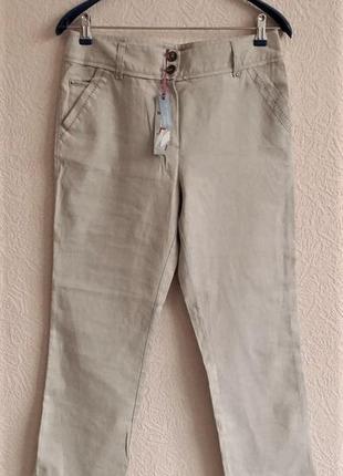 Льняные брюки marks & spencer