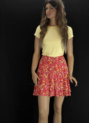 Красивая длинная юбка на запах new look . размер uk12/ eur40.