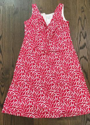 Летнее платье из хлопка laura ashley