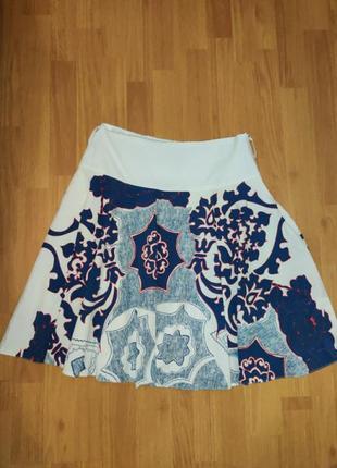 Летняя юбка колокольчик