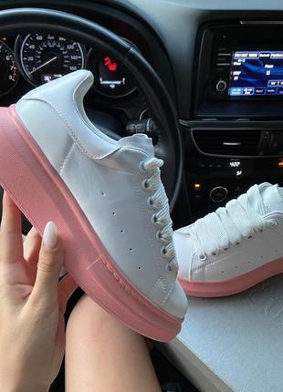 Кроссовки mq white pink