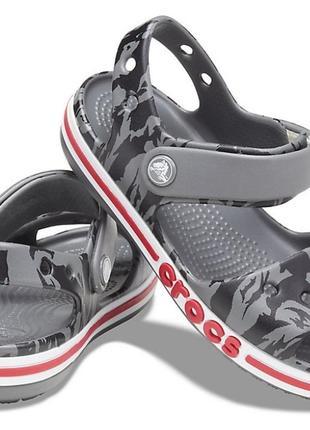 Crocs c9 25 26 оригинал новые детские босоножки сандалии