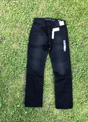 Новые джинсы calvin klein (ck worn in black jeans ) с америки 32,34 (m,l)