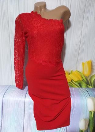 Шикарное стрейчевое платьице размер s