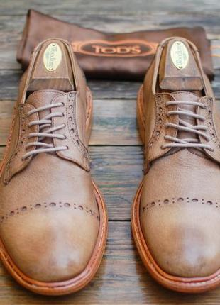 Дерби туфли handred 100 оригинал кожа 41