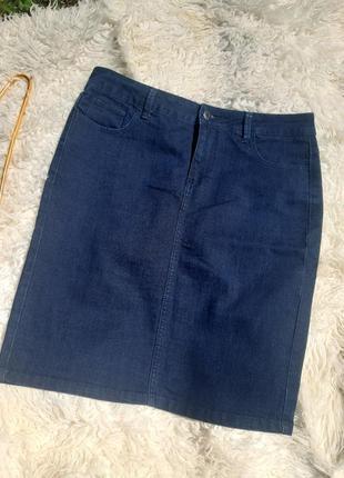 😊класическая джинсовая юбка 😊