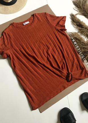 Футболка блуза актуального цвета р.14/xl
