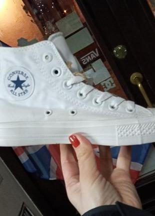 Розкішні converse кеди кросівки білі унісекс