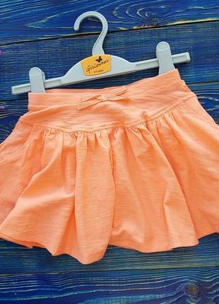 Стильная юбка на 4-5 лет matalan