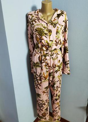 Пижама натуральная вискозная размера 16/xl